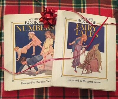 £18 • Buy Vintage My First Book Of Fairy Tales & Numbers Margaret Tarrant First Ed 1988 89