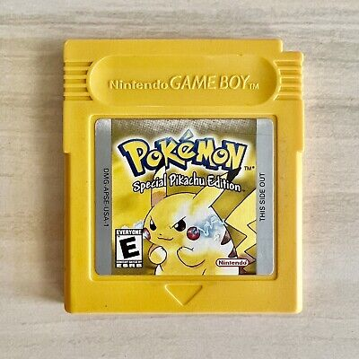 $64.95 • Buy Pokemon Yellow Version ⚡️ Nintendo GameBoy - Authentic Tested And Working