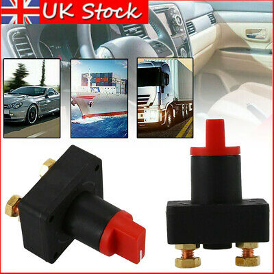 12V Car Van Boat Battery Isolator Switch Cut Off Disconnect Terminal Universal • 4.75£