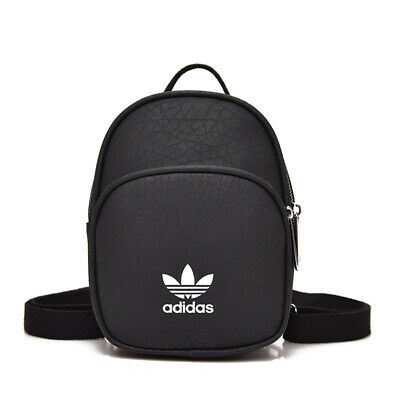 AU29.95 • Buy Adidas Women's Synthetic Leather Mini Backpack - Black/ Pink - Clearance
