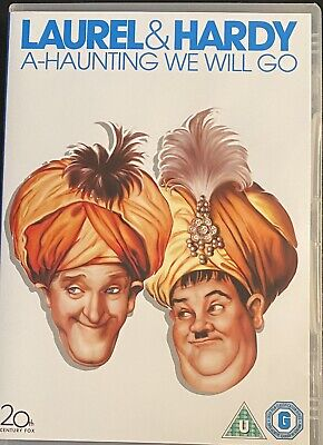 Laurel And Hardy A Haunting We Will Go Dvd Brand New Region 2 Uk Free Post • 7.25£
