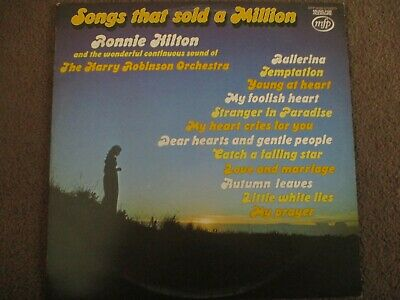 £1.99 • Buy Ronnie Hilton - Songs That Sold A Million - Lp - Music For Pleasure - Mfp 50189