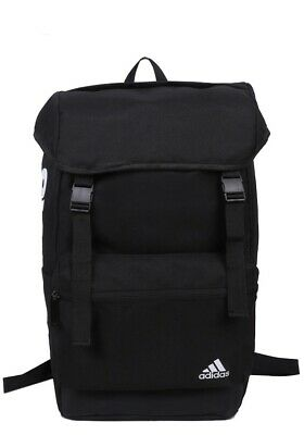 AU44.95 • Buy Adidas Light Weight Regular Outdoor Backpack Travel Bag -  Black / Grey