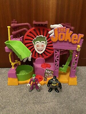 Imaginext DC The Joker Fun House Playset With Figures USED GOOD CONDITION • 14.99£