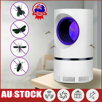 AU19.42 • Buy Electric UV Light Mosquito Lamp Insect Trap Mosquito Bug Fruit Fly Gnat Killer A