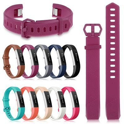 AU3.62 • Buy Replacement Silicone Sports Watch Band Strap Bracelet For Fitbit Alta & Alta HR