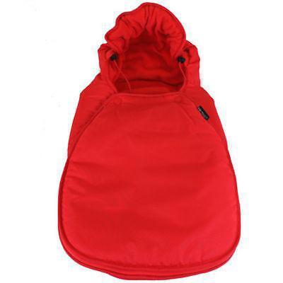 Footmuff Warm Red Fits Car Seat Mode On Icandy Strawberry Apple Pear Peach • 9.95£