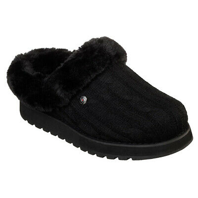Ladies Skechers BOBS Keepsakes - Ice Angel Winter Warm Plush Foam Slip On Faux • 39.99£