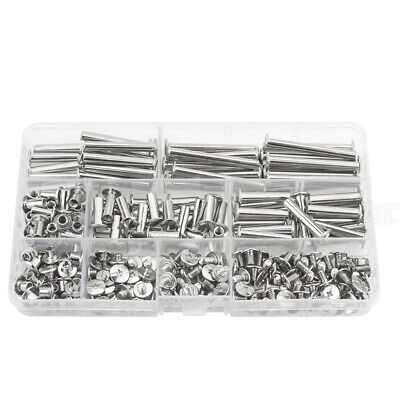 £8.82 • Buy Chicago Screw Binding Screws Posts Assortment Kit For DIY Leather Bookbindi D5A7