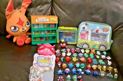 £32.99 • Buy MOSHI MONSTERS Bundle 81 Items Inc Soft Toys, Party Bus, Display Unit, Figures