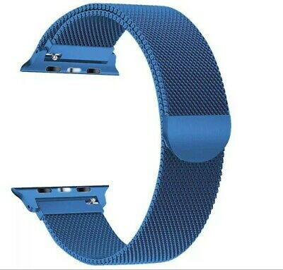 $ CDN17.47 • Buy 🇺🇸 42MM 44MM Beautiful Blue Band Strap For Apple Watch Series 1 2 3 4 5