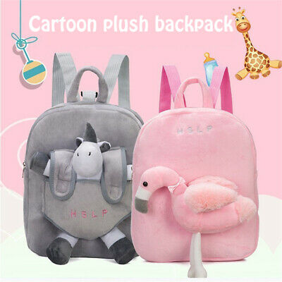 Kids Backpack With Reins Children Plush Rucksack For Toddlers, Boys, Girls • 11.13£