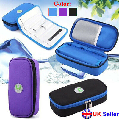 New Insulin Pen Case Pouch Cooler Travel Diabetic Pocket Cooling Protector Bag • 13.19£