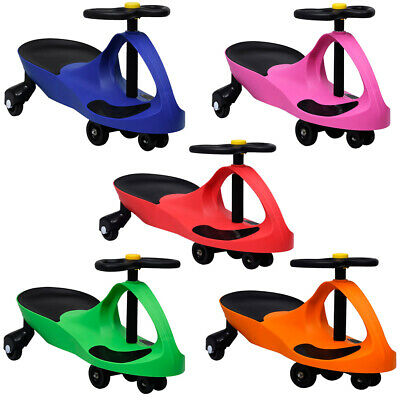 Swing Car With Horn Ride On Toy Wiggle Car Swivel Scooter For Kids Gyro TWIST GO • 43.07£