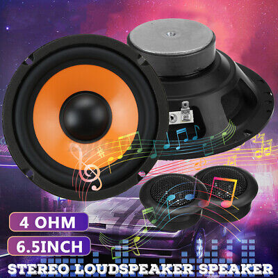 AU35.99 • Buy 6.5'' 35W Car Audio Coaxial Stereo HiFi Loud Speaker Subwoofer System Universal