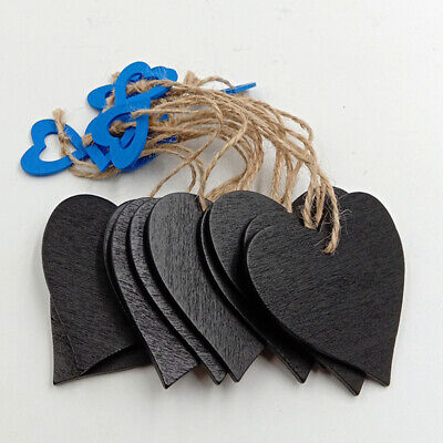 £3.02 • Buy Hanging Memo Office Wedding Supplies Large Heart Shape Chalkboard Sign LC