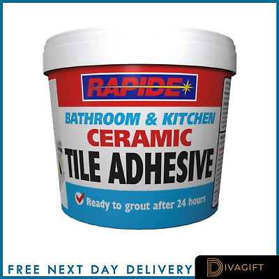 £7.99 • Buy Waterproof Tile Adhesive Bond It Fix And Grout Ready Mixed Grout White 1kg