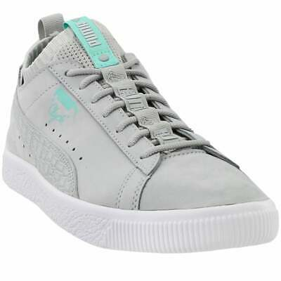 Puma Clyde Sock Low X Diamond Lace Up  Mens  Sneakers Shoes Casual   - Grey - • 28.94£