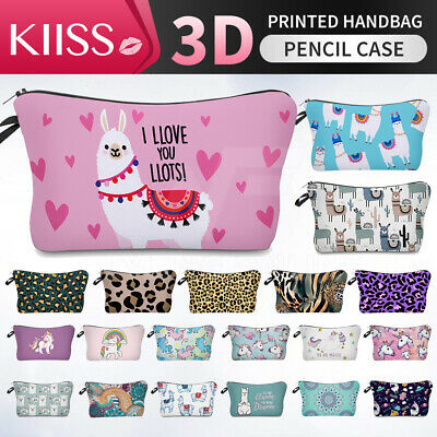 AU6.88 • Buy KIISS Pencil Case Travel Cosmetic Bag Pouch Wallet Clutch Toiletry Makeup Bag