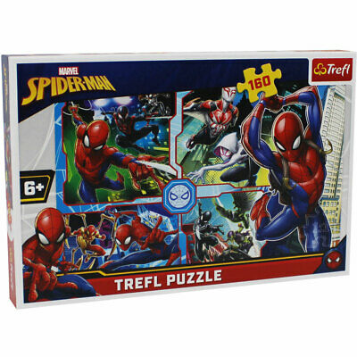 £6 • Buy Spiderman 160 Piece Jigsaw Puzzle, Toys & Games, Brand New