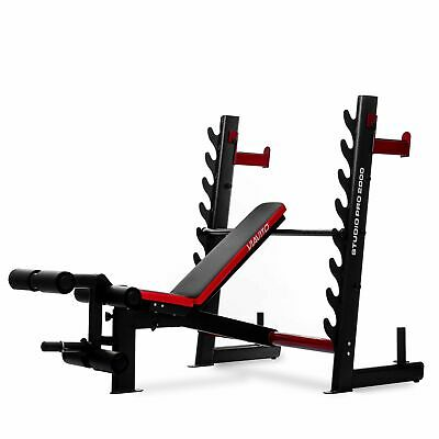 £399 • Buy Viavito Olympic Barbell Bench Studio Pro 2000 Adjustable Weightlifting Bench