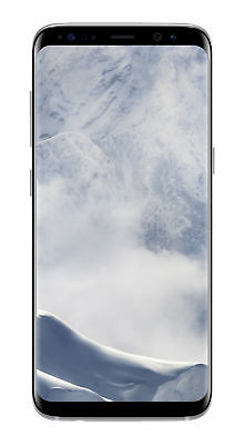 $ CDN219.51 • Buy Samsung Galaxy S8 SM-G950 - 64GB - Arctic Silver (Unlocked) Screen Shadow