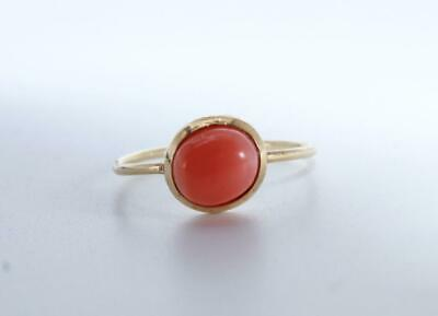 £205 • Buy 18ct Gold Coral Ring