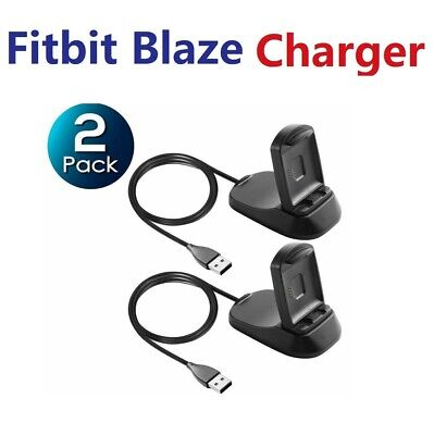 $ CDN14.34 • Buy 2 Pack Fitbit Blaze Replacement Stand USB Fast Charger Charging Dock Cradle