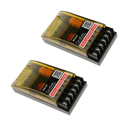 AU22.85 • Buy 2Pieces 2Way Speaker Frequency Divider Amplifier Crossover Filters Board