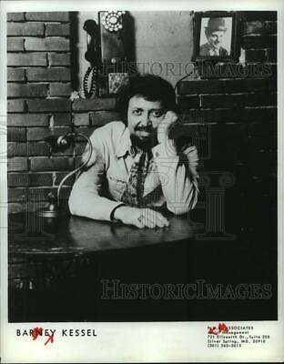 $ CDN24.25 • Buy 1983 Press Photo American Jazz Guitarist, Barney Kessel - Spp65074