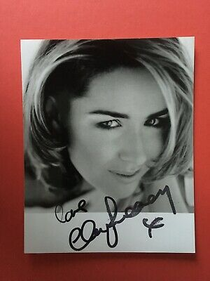 £12.50 • Buy Claire Sweeney - Popular Actress And Singer - Superb Signed Photograph