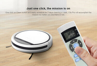 View Details ILIFE V3s Pro Robot Vacuum Cleaner Home Household Sweeping Machine UK • 109.95£