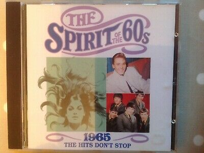 Spirit Of The 60's 1965 The Hits Don't Stop CD Time Life TL531/17 • 3.50£
