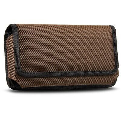 AU17.09 • Buy Horizontal Nylon Carrying Case Mobile Phone Belt Clip Pouch Case Holster Cover