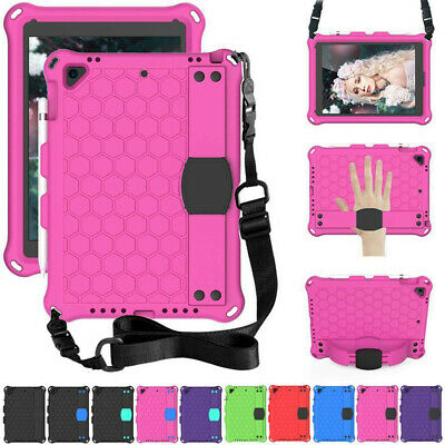 AU25.09 • Buy For IPad 9.7 5th 6th 7th 8th Gen 10.2  2020 Kids Safe EVA Stand Strap Case Cover