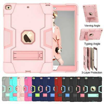 AU26.39 • Buy For IPad 8th 7th Gen 10.2 2020 Shockproo Heavy Duty Hard Rubber Cover Stand Case