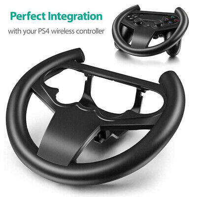 AU12.87 • Buy For PS4 Gaming Racing Steering Wheel DrivingController Playstation4 Accessories*