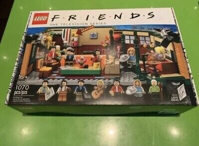 $79.99 • Buy LEGO Friends Central Perk Set 21319 IDEAS Brand New Factory Sealed Same Day Ship