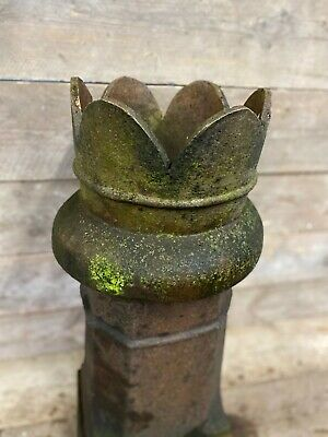 Antique Victorian Salt Glazed Queen Style Chimney Pot • 85£