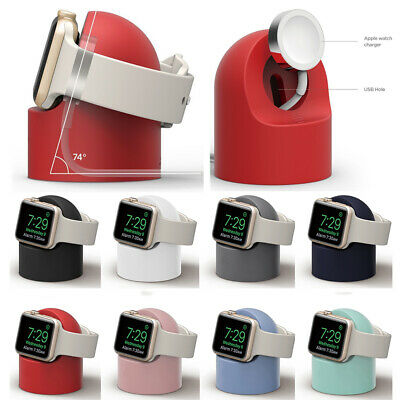 AU11.44 • Buy For Apple Watch Night Stand Desktop Stand Dock Charger Cradle 2020