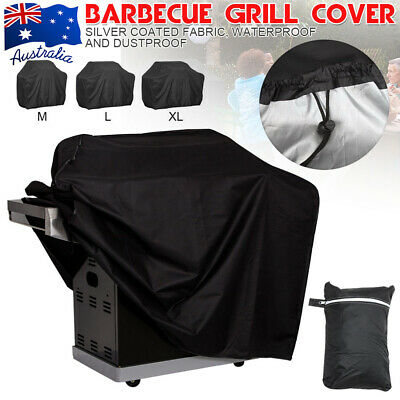 AU20.37 • Buy BBQ Cover 2/4/6 Burner Waterproof Outdoor Gas Charcoal Barbecue Grill Protector
