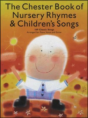 The Chester Book Of Nursery Rhymes Childrens Songs Piano Vocal Guitar Music Book • 10.94£