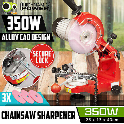 AU109.90 • Buy Chainsaw Sharpener 350W Alloy Chain Saw Bench Lock Mount Electric Grinder Tool