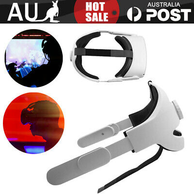 AU36.59 • Buy Head Strap For Oculus Quest 2 VR Comfortable Access Supporting Reality AU