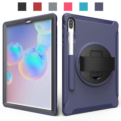 AU22.42 • Buy For Samsung Galaxy Tab S6 2019 / S6 Lite 2020 Tablet Shockproof Strap Case Cover