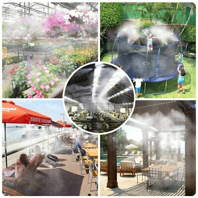 Greenhouse Misting System Indoor Outdoor Automate Watering Garden Plant Flowers • 49.92£