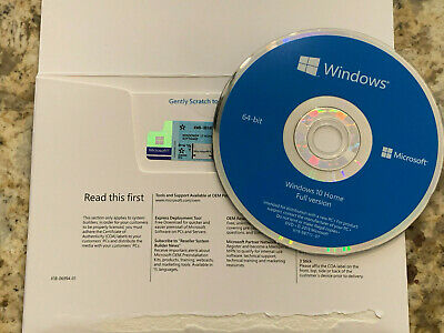 $ CDN33.85 • Buy   Windows 10 Home X64 Bit & Genuine Product Key Sticker(COA)