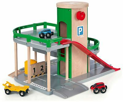 Brio PARKING GARAGE Wooden Toy Vehicle BN • 52.98£