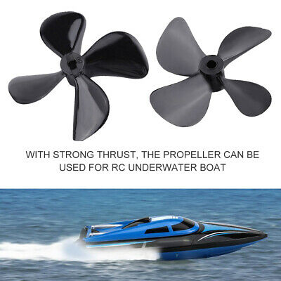 £7.20 • Buy RC Model Boat Parts 4*60mm High Strength CW CCW 4-Blade Full Immersion Propeller