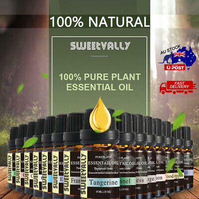 AU7.99 • Buy Essential Oil Oils Pure Natural Aromatherapy Diffuser Set Aroma Purifier 10ml